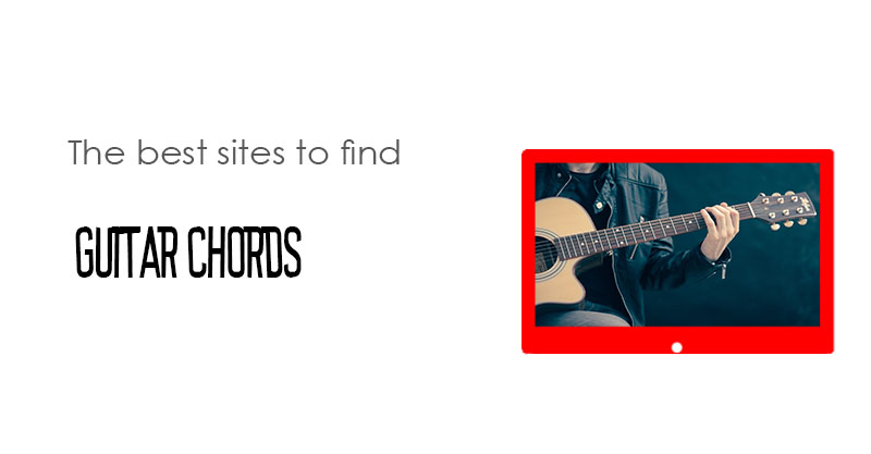 The best sites to find guitar chords - StreamingLister